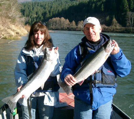 steelhead fishing on Umpqua River