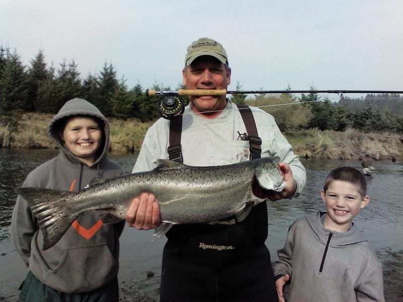 Salmon Fishing Report Nov 21